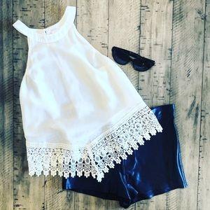Glamorous White XS Top